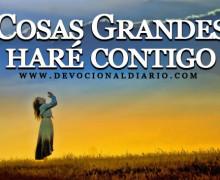 Cosas Grandes haré contigo – Brendaliz Avilés