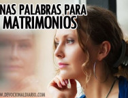 Unas Palabras para Matrimonios – Brendaliz Avilés