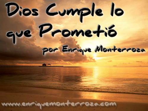 Matrimonios: Dios Cumple lo que Prometió – Enrique Monterroza