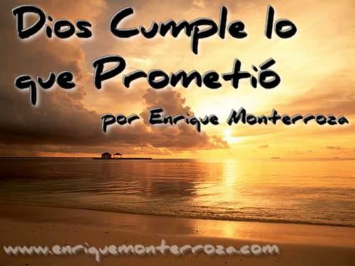 Matrimonios: Dios Cumple lo que Prometió – Enrique Monterroza