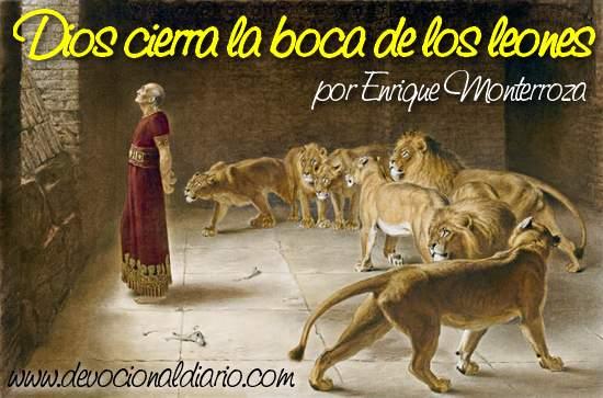 Dios cierra la boca de los leones – Enrique Monterroza