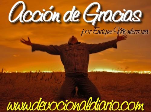 Acción de Gracias – Enrique Monterroza