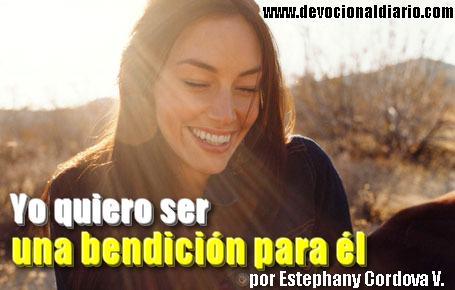 Yo quiero ser una bendición para él – Estephany Cordova V.