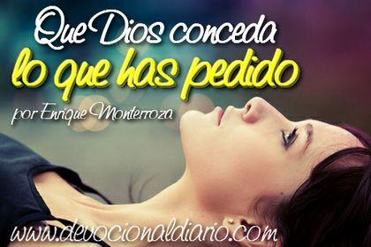 Que Dios conceda lo que has pedido – Enrique Monterroza
