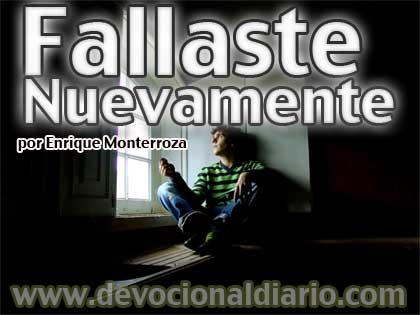 Fallaste Nuevamente – Enrique Monterroza