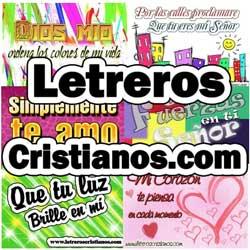 Ministerio Nuevo: Letreros Cristianos.com