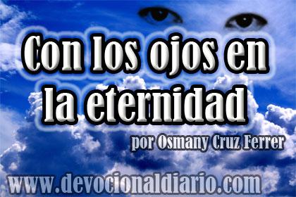 Con los ojos en la eternidad – Osmany Cruz Ferrer