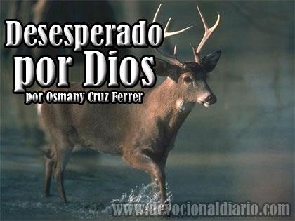 Desesperado por Dios – Osmany Cruz Ferrer