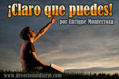 ¡Claro que puedes! – Enrique Monterroza