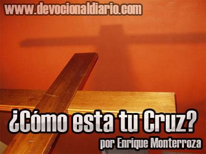 ¿Cómo esta tu Cruz? – Enrique Monterroza