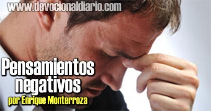 Pensamientos negativos – Enrique Monterroza