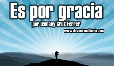 Es por gracia – Osmany Cruz Ferrer