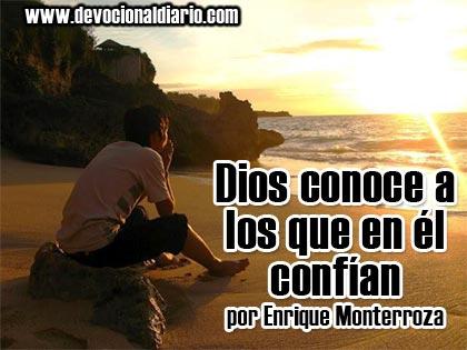 Dios conoce a los que en él confían – Enrique Monterroza