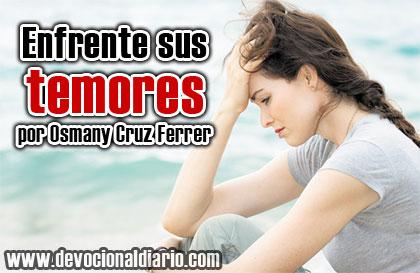 Enfrente sus temores – Osmany Cruz Ferrer