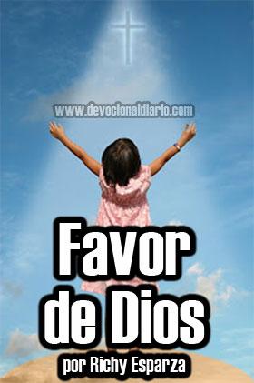 El favor de Dios – Richy Esparza