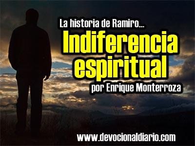 Indiferencia espiritual – Enrique Monterroza