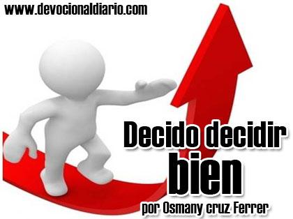 Decido decidir bien – Osmany Cruz Ferrer