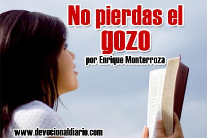 No pierdas el gozo – Enrique Monterroza
