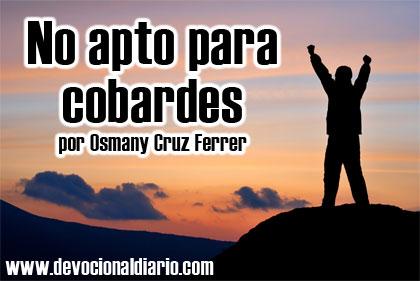No apto para cobardes – Osmany Cruz Ferrer