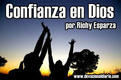Richy Esparza: Confianza en Dios