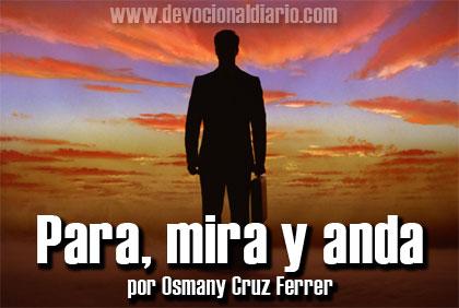 Para, mira y anda – Osmany Cruz Ferrer
