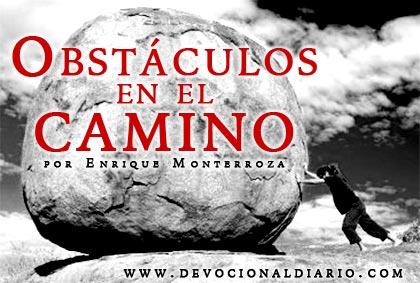 Obstáculos en el camino – Enrique Monterroza
