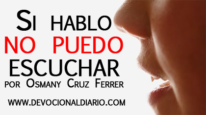 Si hablo no puedo escuchar – Osmany Cruz Ferrer