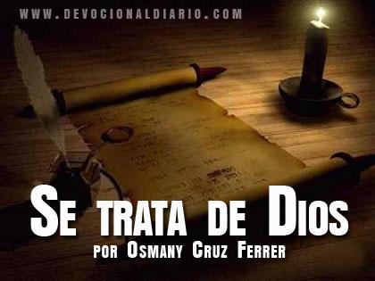 Se trata de Dios – Osmany Cruz Ferrer