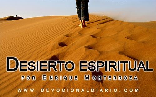 Desierto espiritual – Enrique Monterroza