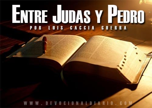 Entre Judas y Pedro – Luis Caccia Guerra