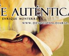 Fe auténtica – Enrique Monterroza