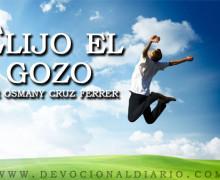 Elijo el gozo – Osmany Cruz Ferrer
