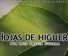 Hojas de higuera – Luis Caccia Guerra