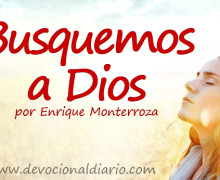 Busquemos a Dios – Enrique Monterroza