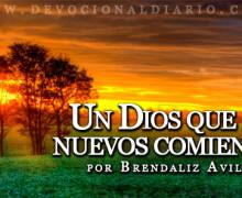Un Dios que da nuevos comienzos – Brendaliz Avilés