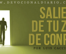 Saliendo de la zona de confort – Luis Caccia Guerra