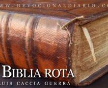 La Biblia rota – Luis Caccia Guerra