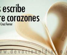 Dios escribe sobre corazones – Osmany Cruz Ferrer