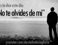 Audio Devocional – No te olvides de mi – Enrique Monterroza