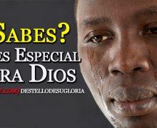 Video Devocional – ¿Sabes?, eres especial para Dios
