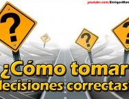 Video Devocional – ¿Cómo tomar decisiones correctas?