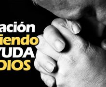 Oración pidiendo ayuda a Dios